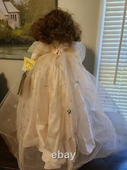 Glinda the Good Witch, Franklin Mint Heirloom Wizard of Oz, Bisque Porcelain EUC