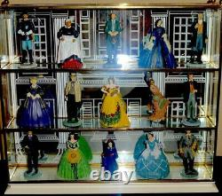 Gone With The Wind Franklin Mint Portrait Sculpture Collection Complete