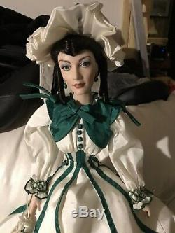 Gone With The Wind Scarlett Porcelain Doll Rhetts Promise