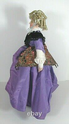 Gone With the Wind AUNT PITTYPAT Franklin Mint Porcelain 19 Doll with box 1992