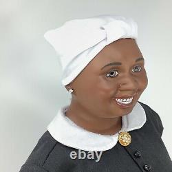 Gone with the Wind Franklin Mint Doll Hattie McDaniel Dress +Papers
