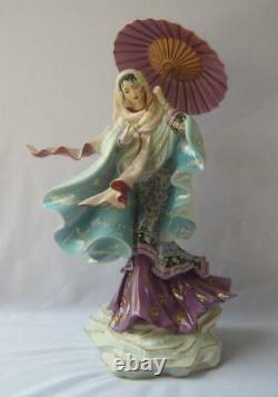 Graceful Large Franklin Mint SPIRIT OF PURITY Porcelain Figurine Caroline Young