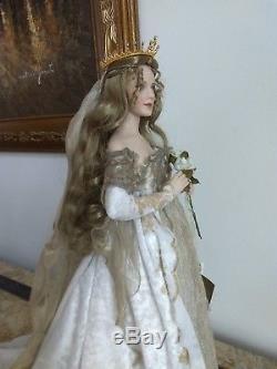 Guinevere Franklin Mint Heirloom Porcelain Doll