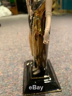 House of Erte Porcelain Sculpture Isis By Franklin Mint