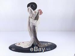 House of ICART Tosca Franklin Mint Figurine #253 Hand-Painted Porcelain