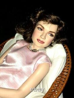 Jackie Kennedy Franklin Mint Collectible Porcelain Doll