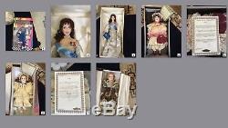 Lot Of 36 Dolls Franklin Mint Danbury Faberge Westminster Munda Barbie