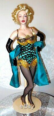 MARILYN MONROE Franklin Mint 19 Porcelain Doll 1998 Bus Stop N MINT