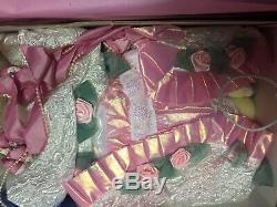 MARYSE NICOLE Franklin Mint Heirloom Blushing Rose Doll porcelain 20