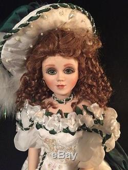 MARYSE NICOLE Franklin Mint Heirloom Gardenia Doll porcelain 20 box