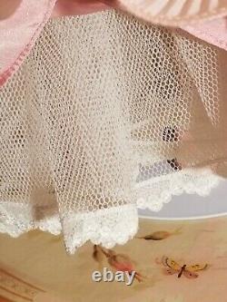 MARYSE NICOLE Franklin Mint Heirloom Pink Peony Porcelain Doll 20
