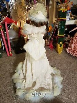 MARYSE NICOLE Franklin Mint Heirloom SWEET SPARKLE porcelain Doll 20 1990