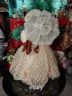 MARYSE NICOLE Franklin Mint Lady Caroline Porcelain Doll 20 all porcelain 1990