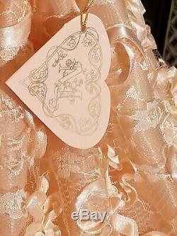 MARYSE NICOLE PEACH BLOSSOM Franklin Mint Heirloom porcelain Victorian Doll 20