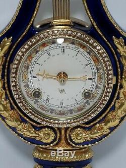 Marie Antoinette Porcelain Clock Franklin Mint Victoria & Albert Museum Replica