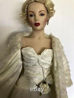 Marilyn Monroe All About Eve Porcelain Doll, Franklin Mint