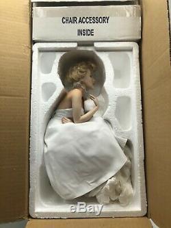 Marilyn Monroe FranklIn Mint Porcelain LOVE MARILYN Mint In Box