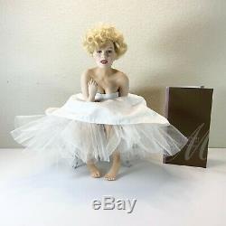 Marilyn Monroe Franklin Mint Porcelain Doll LOVE MARILYN Read Description