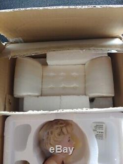 Marilyn Monroe Franklin Mint Porcelain Portrait Doll Love Marilyn
