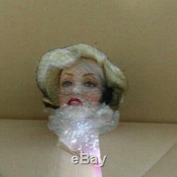 Marilyn Monroe Sweater Girl Franklin Mint Heirloom Doll Porcelain Bnib Original