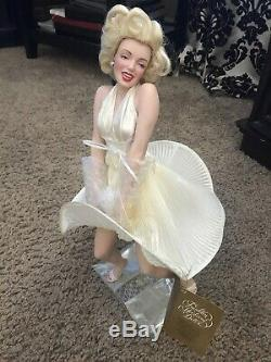 Marilyn Monroe The Seven Year Itch Porcelain Doll By Franklin Mint