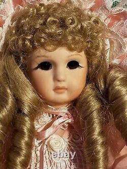 Maryse Nicole Annette Jumeau Vintage 1990 Full Porcelain Doll Antique Victorian