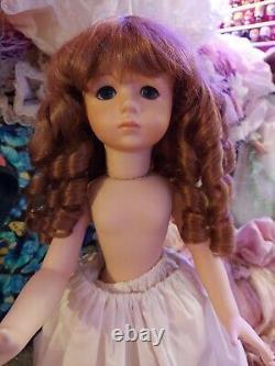 Maryse Nicole Isabella Jumeau Vintage1990 Full Porcelain Doll Antique Victorian