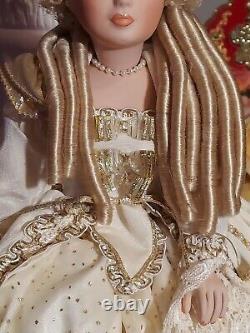 Maryse Nicole Jaselle Vintage 1990 Full Body Porcelain Doll Victorian
