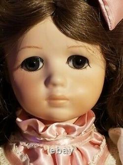 Maryse Nicole Jessica Rare A Marque Vintage 1990 Full Porcelain Doll Victorian