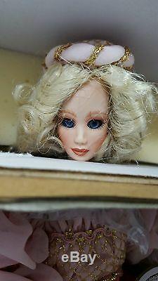 Maryse Nicole MARION Rare Porcelain Doll Limited Edition COA #348 Franklin Mint