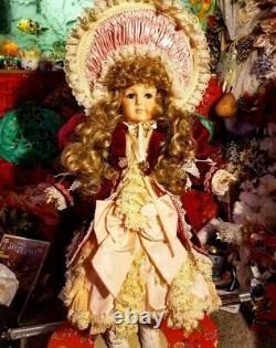 Maryse Nicole Mein LieblingVintage 1990 Full Porcelain Doll Antique Victorian