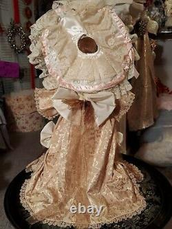 Maryse Nicole Mein Liebling Vintage 1990 Full Porcelain Doll Antique Victorian