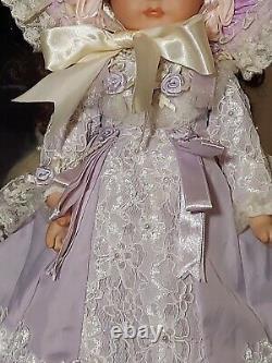Maryse Nicole jumeau Vintage 1990 Full Porcelain Doll Victorian