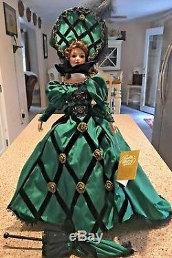 Mib Franklin Mint Heirloom Porcelain Doll Doreen Of County Donegal