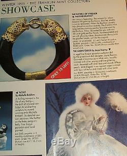 NRFB $400 FRANKLIN MINT DOLL SNOW QUEEN MASQUERADE PORCELAIN 22 by J Reavy