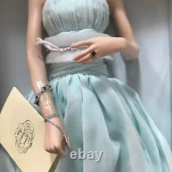 New Franklin Mint Diana Princess Of Wales Porcelain Portrait Doll NIB