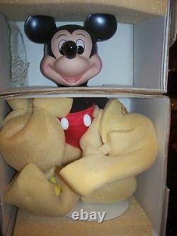 Nib 1990 Disney Doll Mickey Mouse 12 Premier Ed Porcelain Franklin Mint Hallmrk