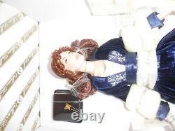 Nrfb Titanic Rose Porcelain Doll + Coa Franklin Mint New In Box Nib