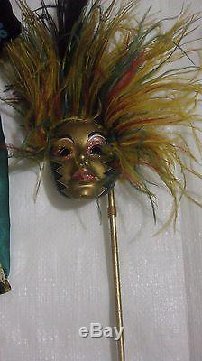 Porcelain Doll Rio Queen Of Carnival By Maryse Nicole From The Franklin Mint