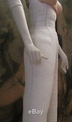 Porcelain Franklin Heirloom Scarlett Sawmill Doll Gone With The Wind Coa