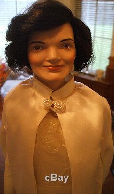 Porcelain Jackie O Doll from 1st Lady series
