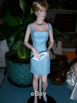 Price Reduced! FM Princess Diana Swan Lake 17 Porcelain Doll #0945/2000 LE
