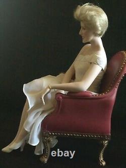 Princess Diana Franklin Mint Collectible Porcelain Doll