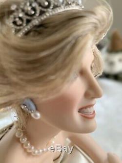 Princess Diana Franklin Mint porcelain Doll