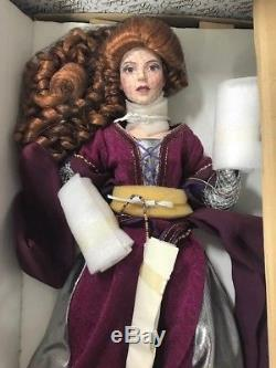 Queen Mab Camelot Collection Porcelain Doll Franklin Mint Doll