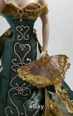 Rare Franklin Mint Gibson Girl Anniversary Ballroom Porcelain Collectors Doll