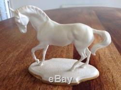 Rare Franklin Mint Spanish Riding School Vienna Horse Statues Figurines & CofA