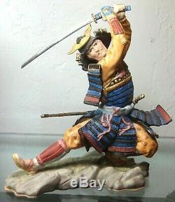 Rare Franklin Mint Sum Nakamura Samurai Shogun Porcelain Figurine Statue