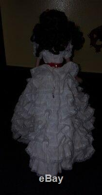 Scarlett O' Hara Franklin Mint Gwth Porcelain Bisque 19 Doll Love Of Tara