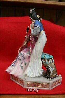 Sisters of Spring by Caroline Young. Franklin Mint Limited Edition Figurine
